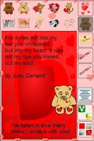 Screenshot of Cards for Lovers FREE