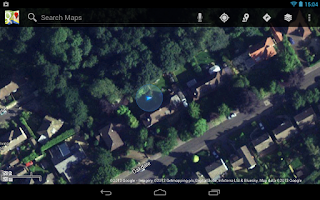 Screenshot of You Are Here GPS