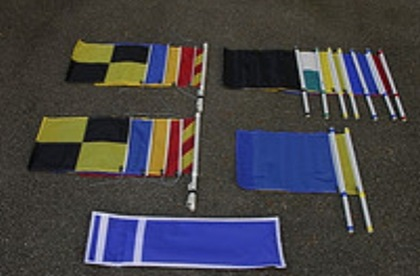 umpire flags matchracing set