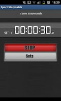 Screenshot of Sport Stopwatch - Lite