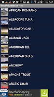 Screenshot of Fishing Status