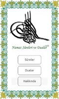 Screenshot of Namaz Sureler ve Dualar Sesli