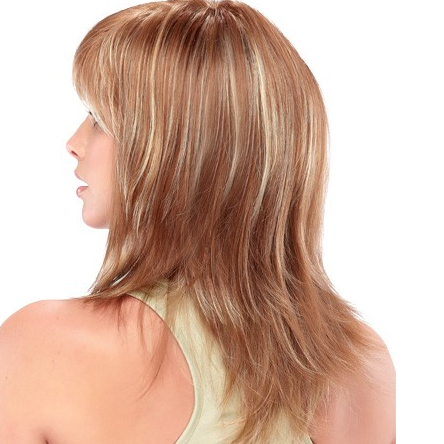 Synthetic light wig very light