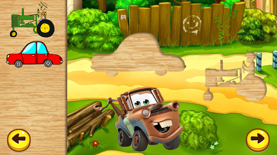 Vehicles Puzzles:Toddler&Kids - screenshot