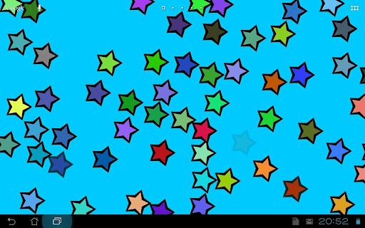 Touch Stars Live Wallpaper