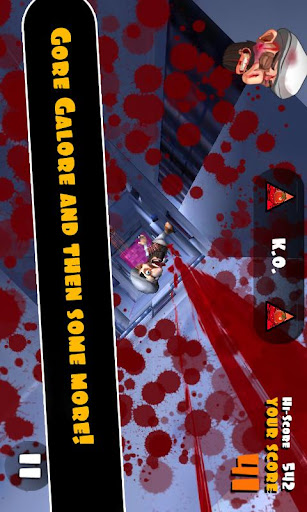 Falling Fred - screenshot