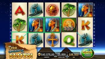 Screenshot of Slots - Pharaoh's Way