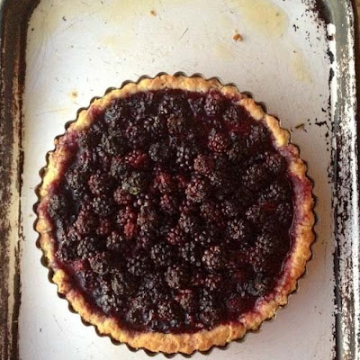 Foraged Berry Tart