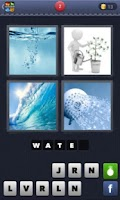 Screenshot of 4 pics 1 word: Help me!