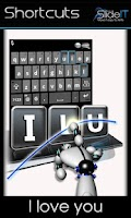 Screenshot of SlideIT free Keyboard