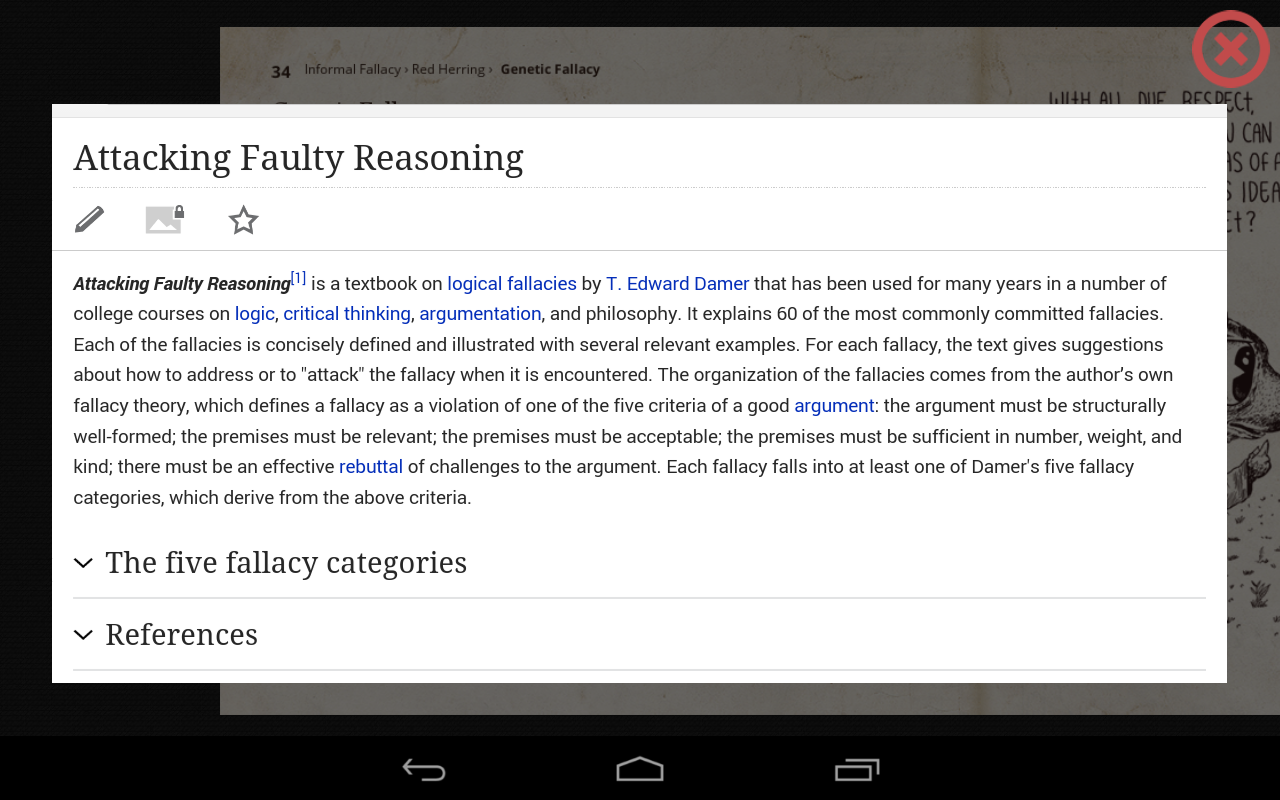a literary analysis of attacking faulty reasoning by t edward damer Attacking faulty reasoning pdf pdf available available for reasoning is free its attacking too skills also be critical practical goes a particularly and faulty zip knowledge torrent product from attacking faulty reasoning by t edward damer, third edition p 36: youre not going to wear a wedding ring, are you.