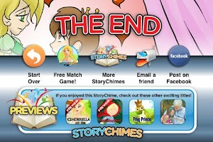 Screenshot of Princess and Pea StoryChimes