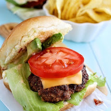 Beef Sliders with Avocado and Chipotle Mayo