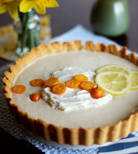 Lemon-Yogurt Icebox Tart Recept | Yummly