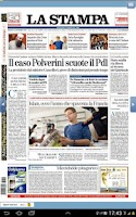 Screenshot of La Stampa