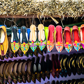 The Hanging Garden by Kulpreet Bhatia - Artistic Objects Clothing & Accessories ( shoes, colors, artistic, beauty, shoe )
