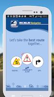 Screenshot of MICHELIN Navigation & Traffic