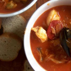Seafood Stew with Tomatoes and Basil