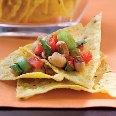 Red Pepper-Black-eyed Pea Salsa