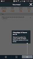 Screenshot of Weight Watchers français CA