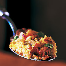 Chestnut, Bacon, Dried Apple, and Corn Bread Stuffing
