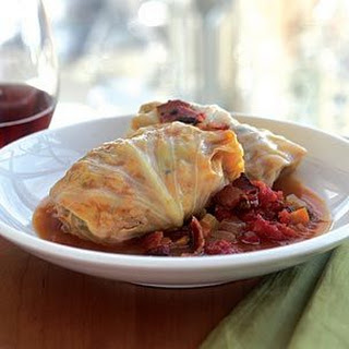 Pork-Stuffed Cabbage Rolls