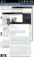 Screenshot of Technology and Science News