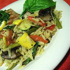 Roasted Summer Vegetable Orzo