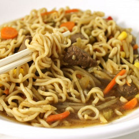 Skinny Asian Steak and Noodle Bowl