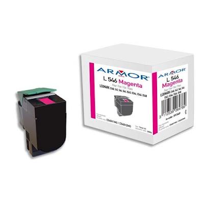 Acheter armor toner compatible lexmark magenta c540h1mg for Papeterie plein ciel