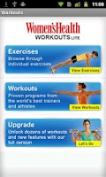 Screenshot of Women's Health Workouts Lite