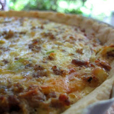 Cheesy Sausage Quiche