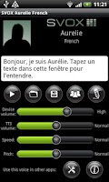 Screenshot of SVOX French Aurelie Voice