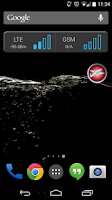 Screenshot of SA Airplane Mode Widget