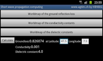 Screenshot of World Ground constants