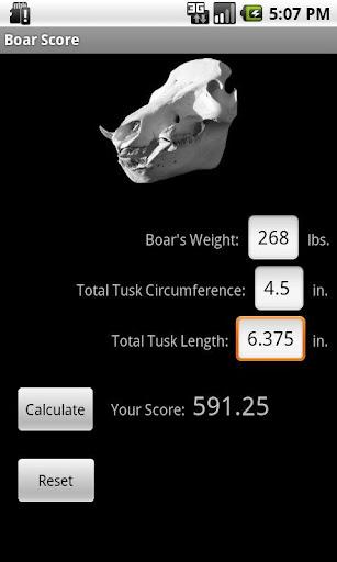 Boar Score