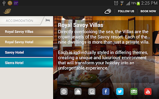 Screenshot of Savoy Sharm Group