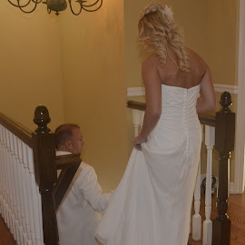 Going to the Chapel by Lorraine D.  Heaney - Wedding Getting Ready