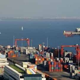 Lisbon Seaport by João Ascenso - Transportation Other ( seaport, lisbon )