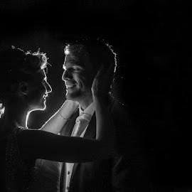 First Dance by Mandy Charlton - Wedding Reception ( first dance, off camera flash )