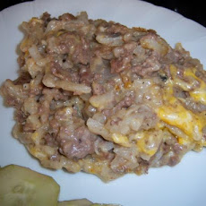 Creamy Beef Potato Bake