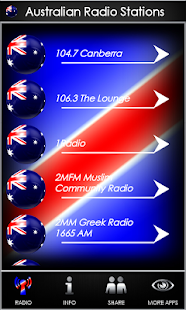 Australian Radio Stations - screenshot