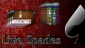 Screenshot of Live Spades Pro