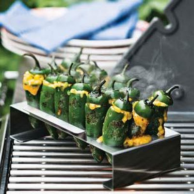 Cheddar and Corn Jalapeño Poppers