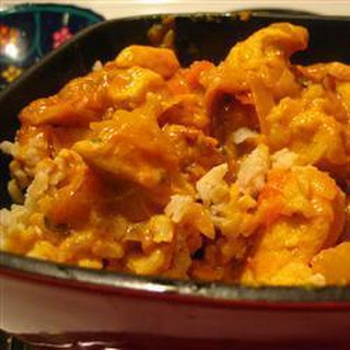 Indian Chicken Curry with Tomatoes and Yoghurt - Murgh Kari