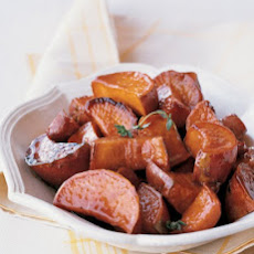 Maple-Glazed Sweet Potatoes