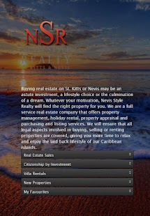 Nevis Style Realty,Real Estate - screenshot