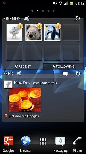 Timescape™ for Google+™