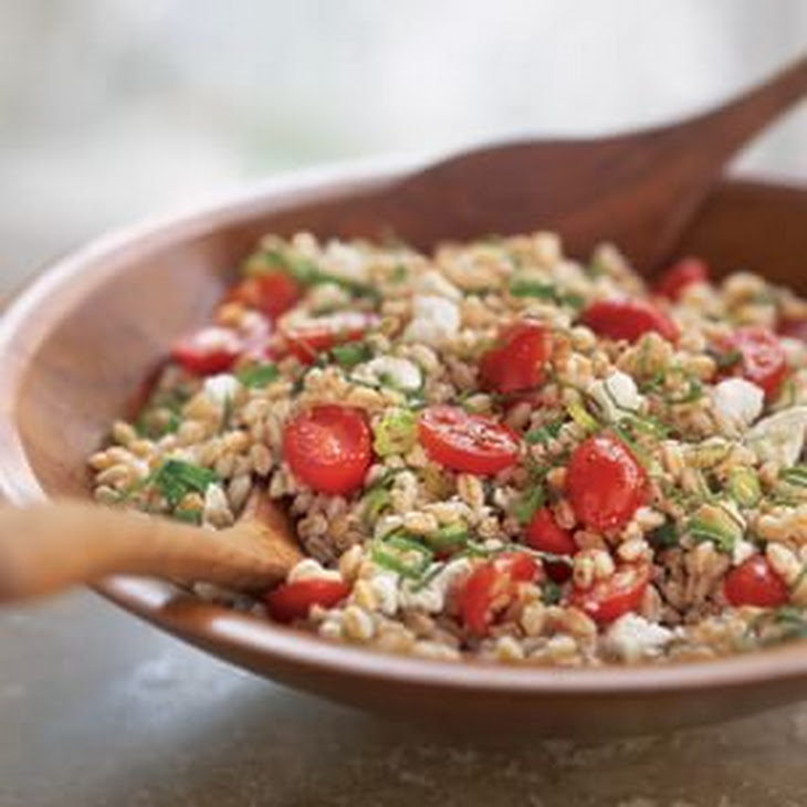 Farro Salad with Ricotta Recipe | Yummly