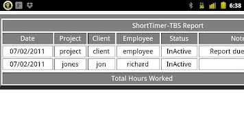 Screenshot of Short Timer-TBS Pro